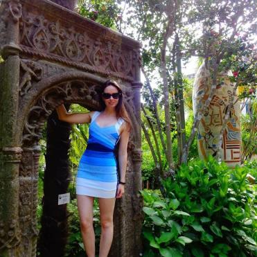 Monte gardens ancient ruins